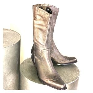 🎉SALE- COLDWATER CREEK- LEATHER WESTERN BOOTS